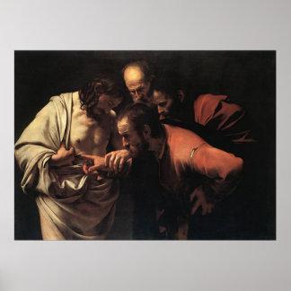 Caravaggio Incredulity of Saint Thomas