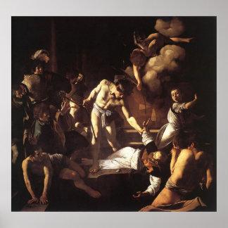 Caravaggio The Martyrdom Of St Matthew Poster