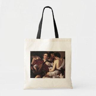 Caravaggio: The Musicians Tote Bags