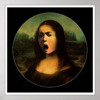 Caravaggio's Mona Medusa Poster