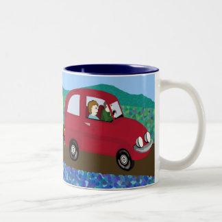 Caravan holiday coffee mug