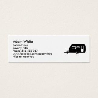 Caravan Mini Business Card