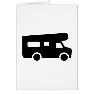 Caravan - Motorhome Card