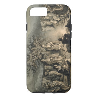 Caravan of Armenian Merchants, Transcaucasia, plat iPhone 8/7 Case