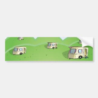 caravan park bumper sticker