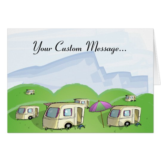 Caravan Park - Version 2 Card