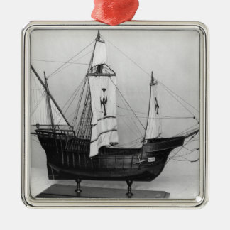 Caravel of Christopher Columbus Christmas Ornament