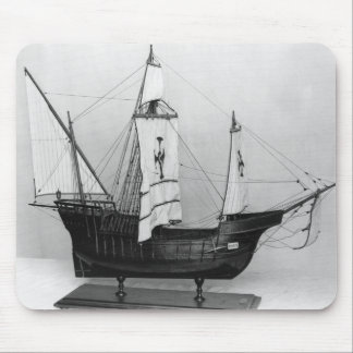 Caravel of Christopher Columbus Mouse Mat