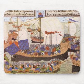 Caravelle of the Duke of Bourbon Mouse Pad