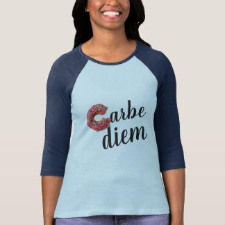 carbe diem play on carpe diem funny t-shirt design