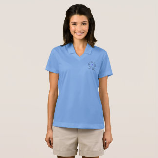 Carbon Atom Science is for Girls Polo Shirt