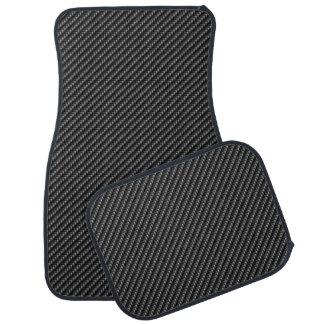 Carbon Fiber 2A Floor Mats Car Mat