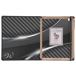 Carbon Fiber 3 DODO iPad Folio Case