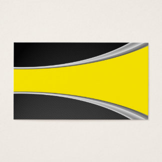 Carbon Fiber and yellow card
