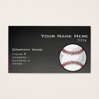 Carbon Fiber look Baseball
