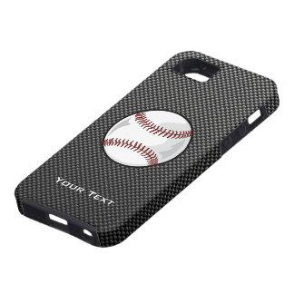 Carbon Fiber look Baseball iPhone 5 Case