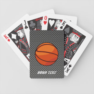 Carbon Fiber look Basketball Playing Cards