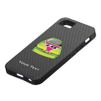 Carbon fiber look Nascar Tough iPhone 5 Case
