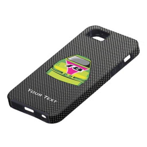 Carbon fiber look Nascar iPhone 5 Case
