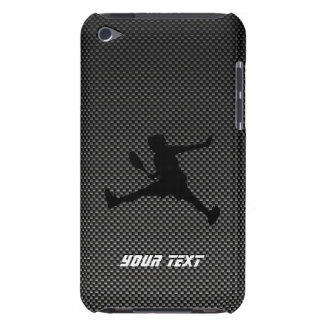 Carbon Fiber look Tennis Barely There iPod Cover
