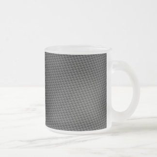 Carbon Fiber Material Frosted Glass Mug
