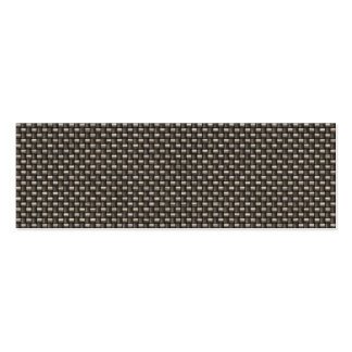 Carbon Fiber Pattern (Faux) Business Card Template