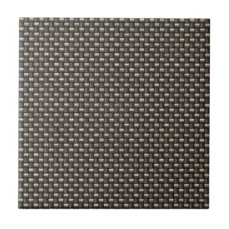 Carbon Fiber Pattern Faux Ceramic Tile