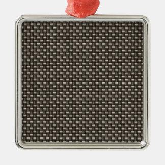Carbon Fiber Pattern (Faux) Ornaments