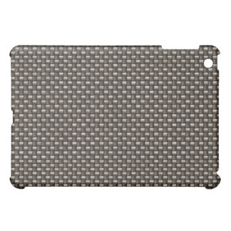 Carbon Fiber Pattern Faux iPad Mini Covers