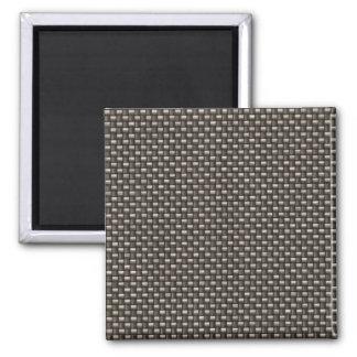 Carbon Fiber Pattern Faux Magnet