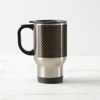 Carbon Fiber Pattern (Faux) Mug