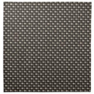 Carbon Fiber Pattern (Faux) Cloth Napkin