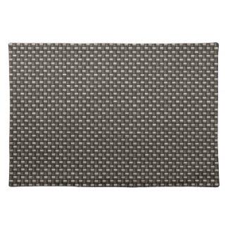 Carbon Fiber Pattern (Faux) Place Mat