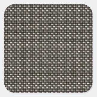 Carbon Fiber Pattern (Faux) Sticker