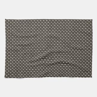 Carbon Fiber Pattern (Faux) Kitchen Towels