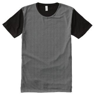 Carbon Fibre All-Over Print T-Shirt