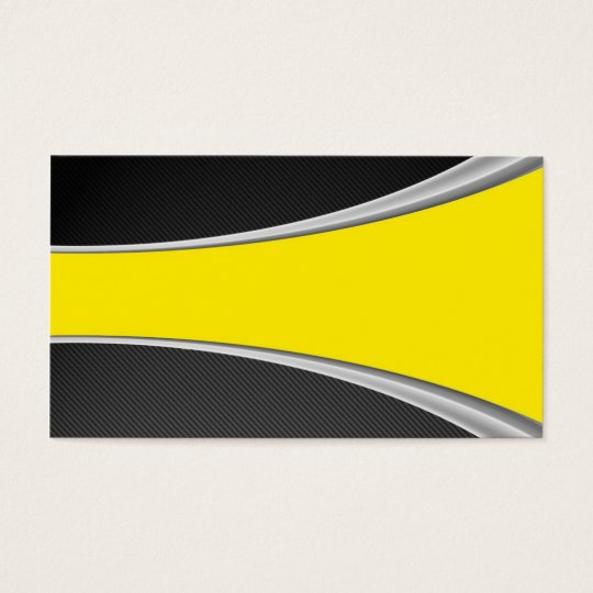 Carbon Fibre and yellow card