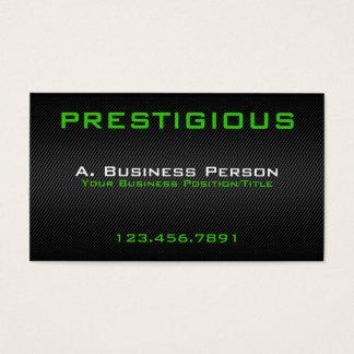 Carbon Fibre Effect Business Cards