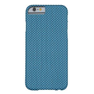 Carbon Fibre iPhone 6 case (Blue)