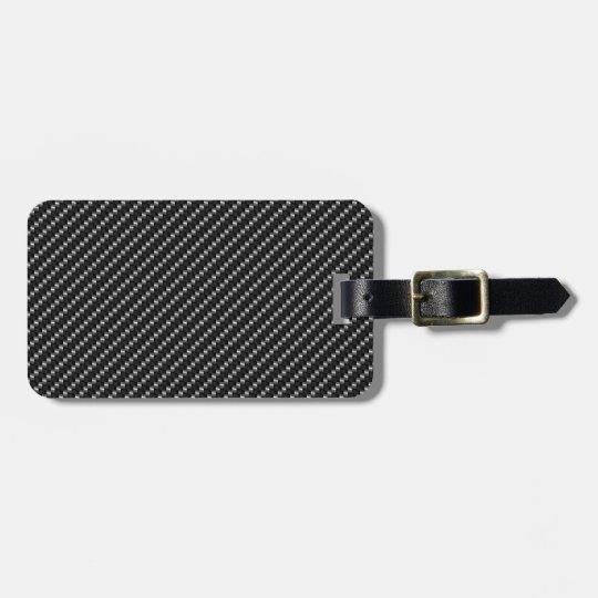 Carbon Fibre luggage tag