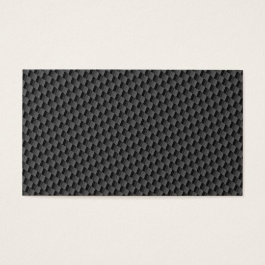 Carbon Fibre Material Business Card