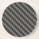 Carbon Fibre Material Drink Coaster