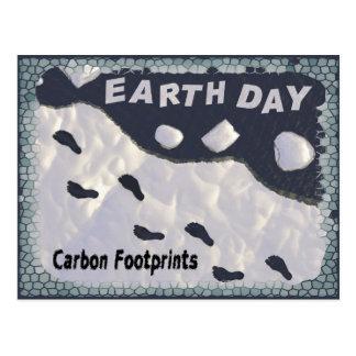 Carbon Foorprints Postcard