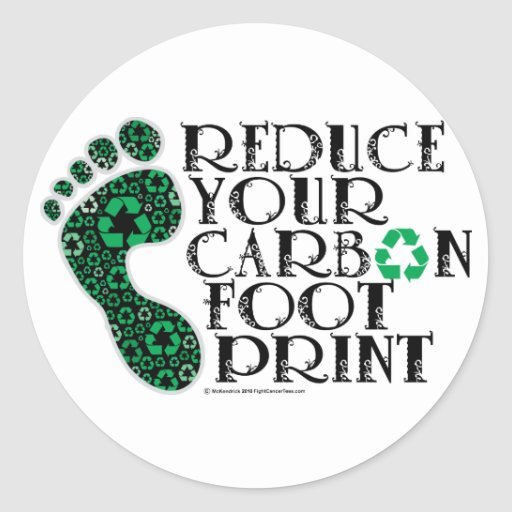 Carbon Footprint Stickers
