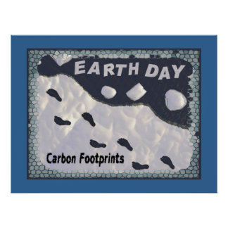 Carbon Footprints Posters