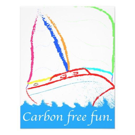 Carbon Free Custom Invitations