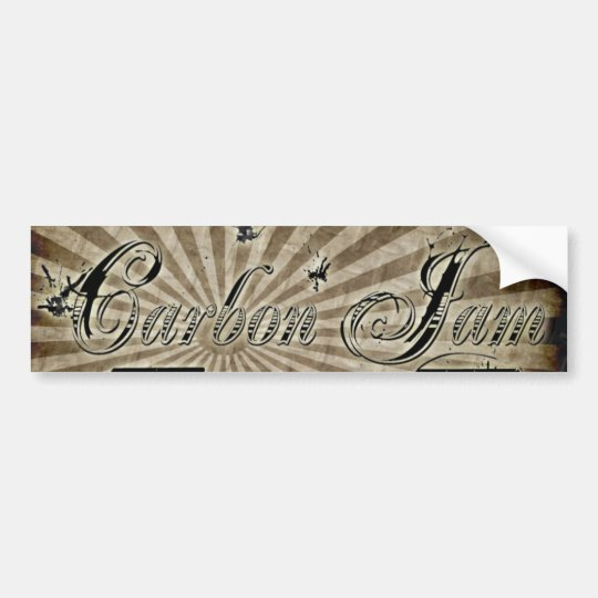 Carbon Jam Bumper Sticker