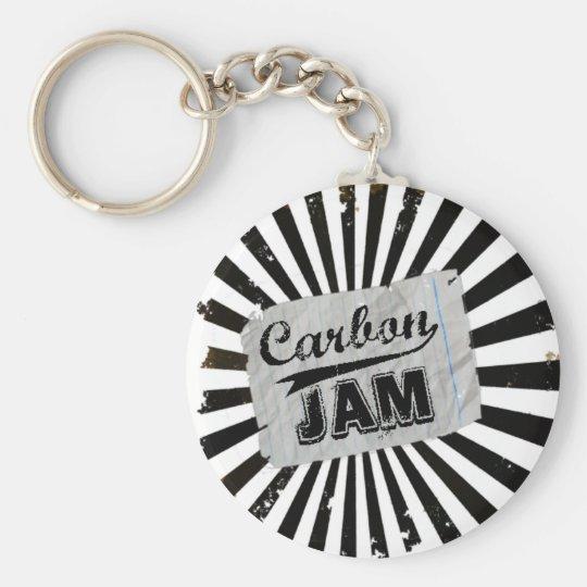Carbon Jam Keychain