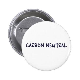 Carbon Neutral Pinback Buttons