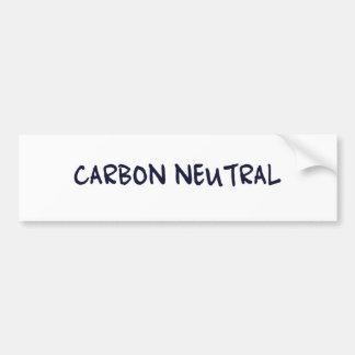 Carbon Neutral Bumper Stickers